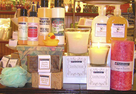 Wick-edly Sent has an amazing selection of all-natural products